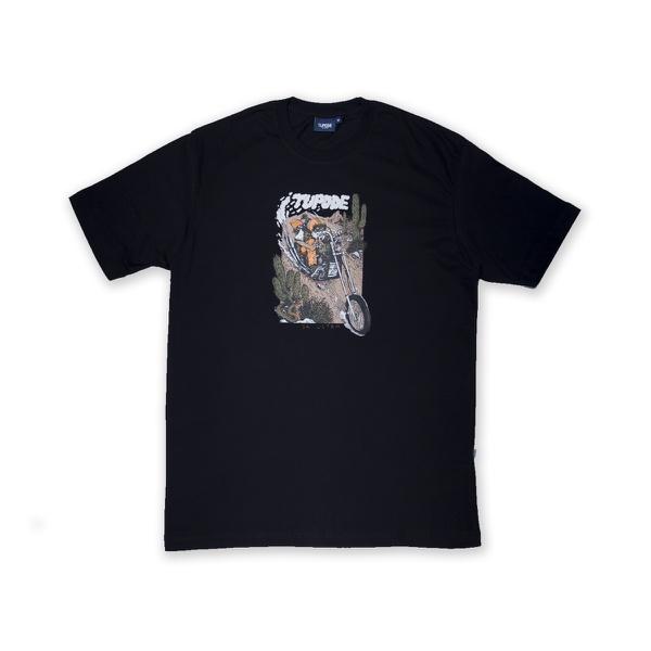 Camiseta Tupode Moreno Preto