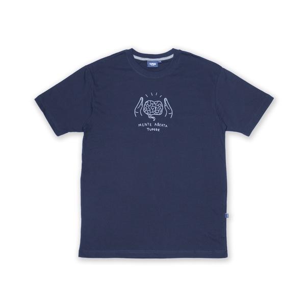 Camiseta Tupode Mente Aberta Marinho