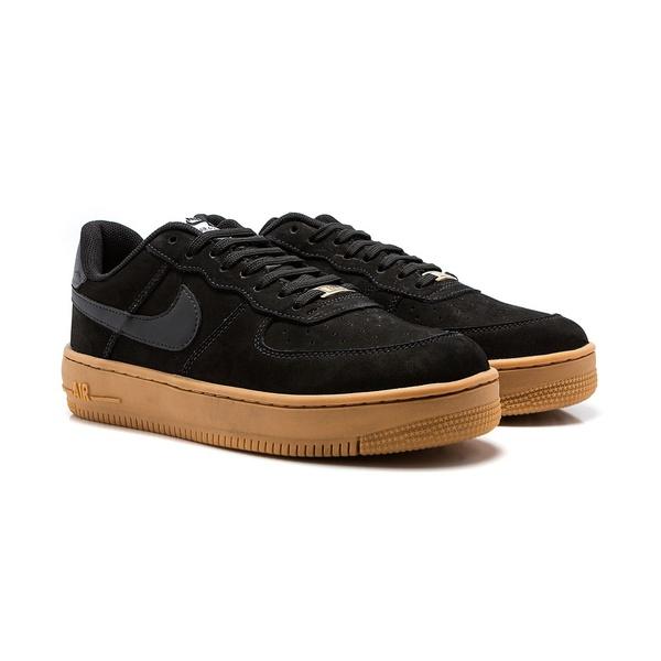 Nike Air Force 1 Preto e Caramelo