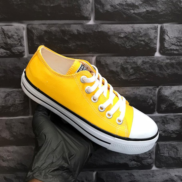 Converse All Star Chuck Taylor Lona Amarelo