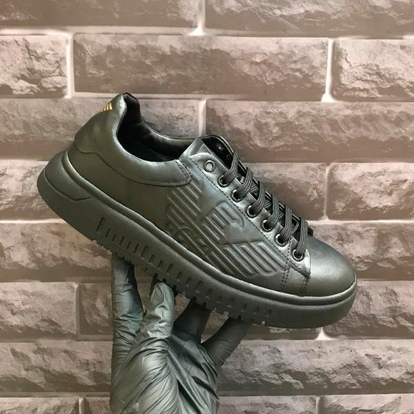 Emporio Armani Sneakers GA Preto Preto