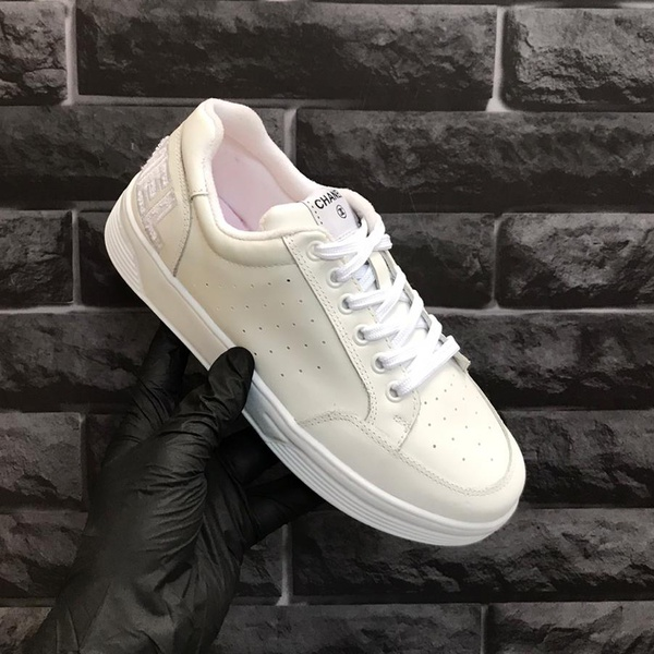 Chanel calfskin Branco e Branco