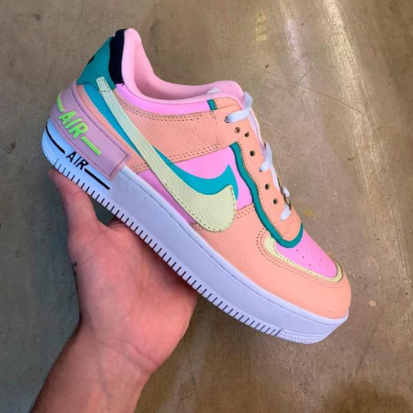 Nike Air Force Shadow Feminino Rosa