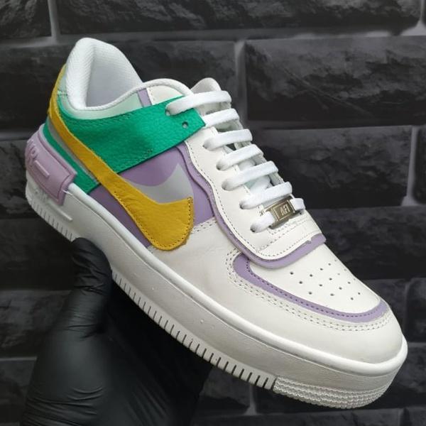 Nike Air Force Shadow Feminino Verde Lilas