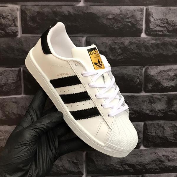 Adidas Superstar Branco Preto