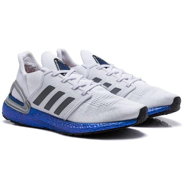 Adidas Ultraboost 20 Branco e azul
