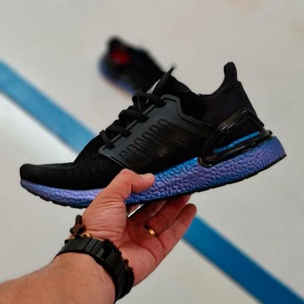 Adidas Ultraboost 20 Preto e azul