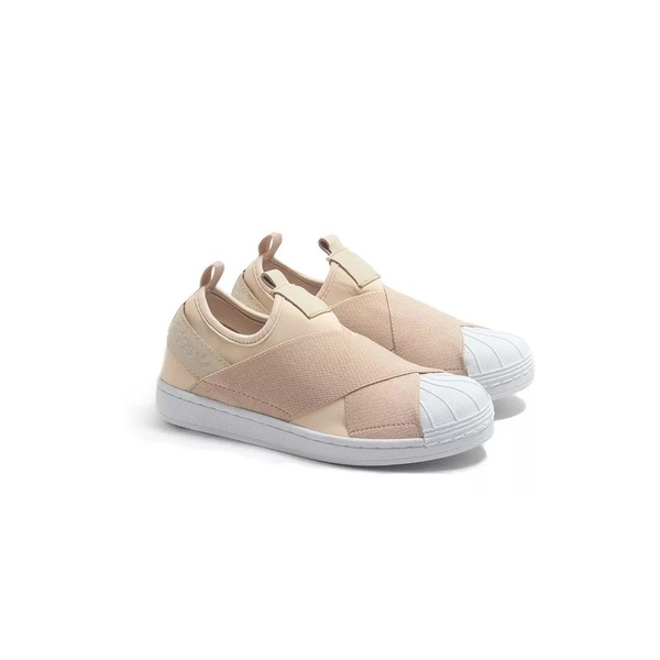 Tênis Adidas Superstar Slipon - Nude