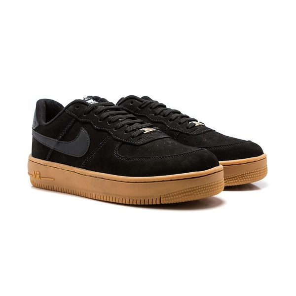 Tênis Nike Air Force 1 - Preto e Caramelo