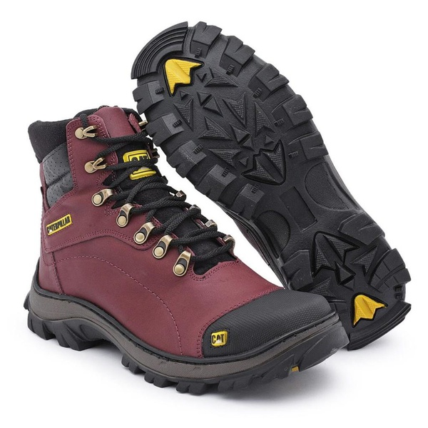 Bota Caterpillar Adventure Explorer - Vinho