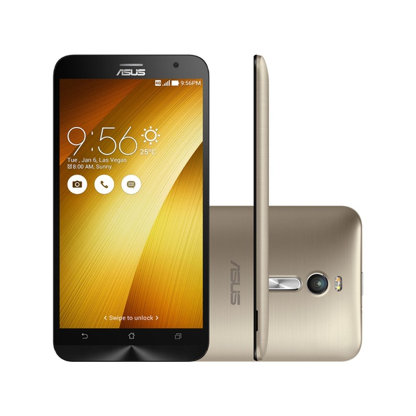 Smartphone Asus ZenFone 2 16GB Dual Chip 4G - Câm. 13MP + Selfie 5MP Tela 5.5