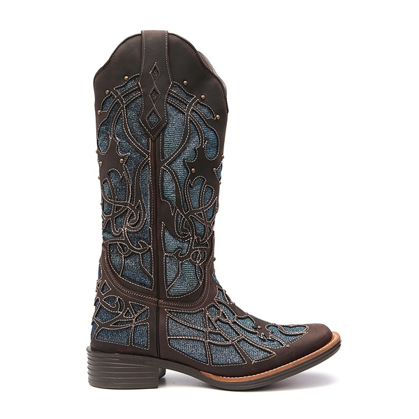 Bota Texana Feminina Converse Azul