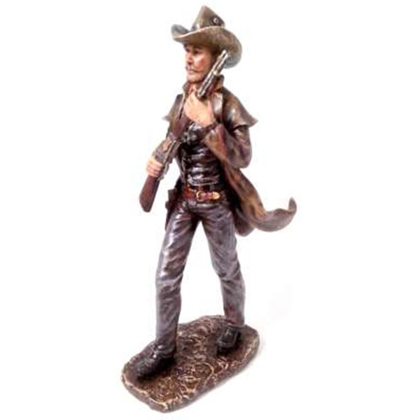 Cowboy com Espingarda