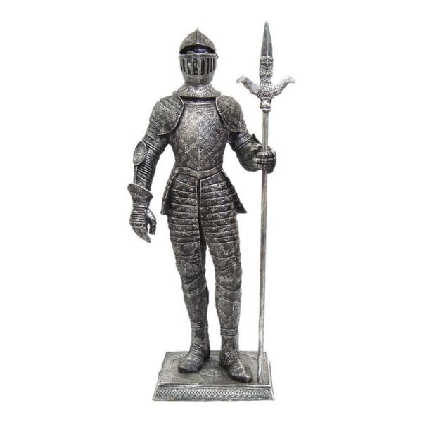 Guerreiro Medieval com Lança GG
