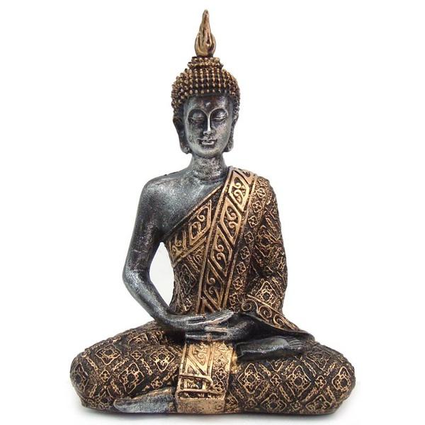Buda Hindu Médio Dourado