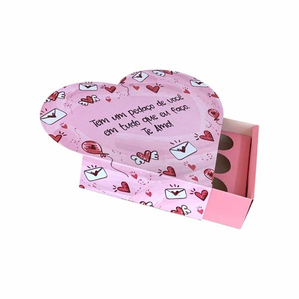 Caixa formato coração