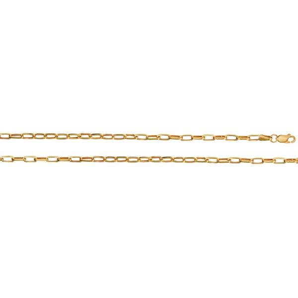 Pulseira de Ouro 18k Link Sottile