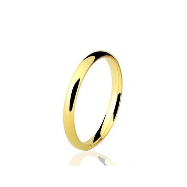 Aliança De Casamento E Noivado Em Ouro 18k 750 Tradicional 2,50 Mm