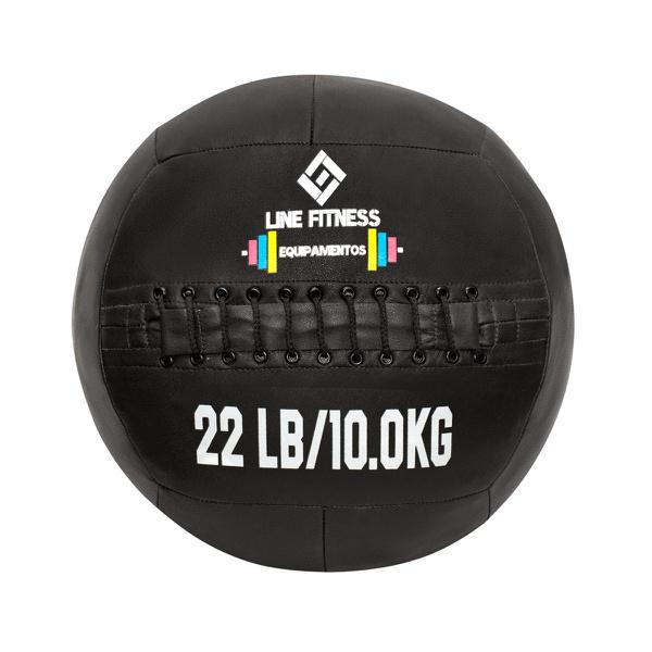 Wall Ball Em Couro Sintético 22lb/10kg