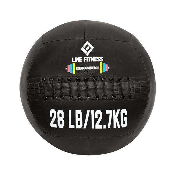 Wall Ball Em Couro Sintético 28lb/12,7kg