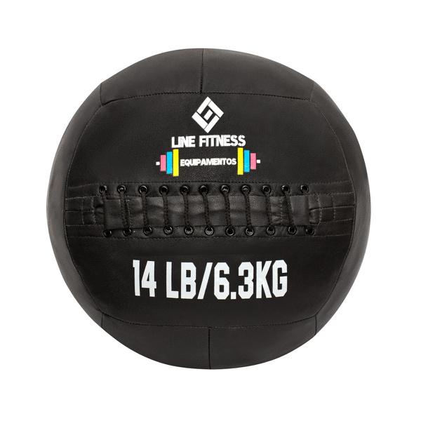 Wall Ball em Couro 14lb/6,3kg