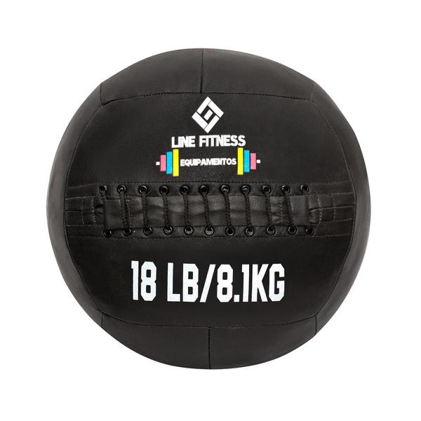 Wall Ball em Couro 18lb/8,1kg