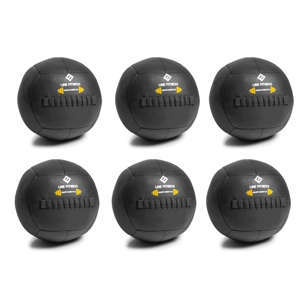Kit De 6 Wall Bal Funcional Crossfit