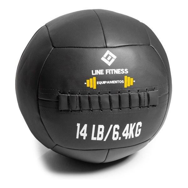 Wall Ball Em Couro Sintético 6kg