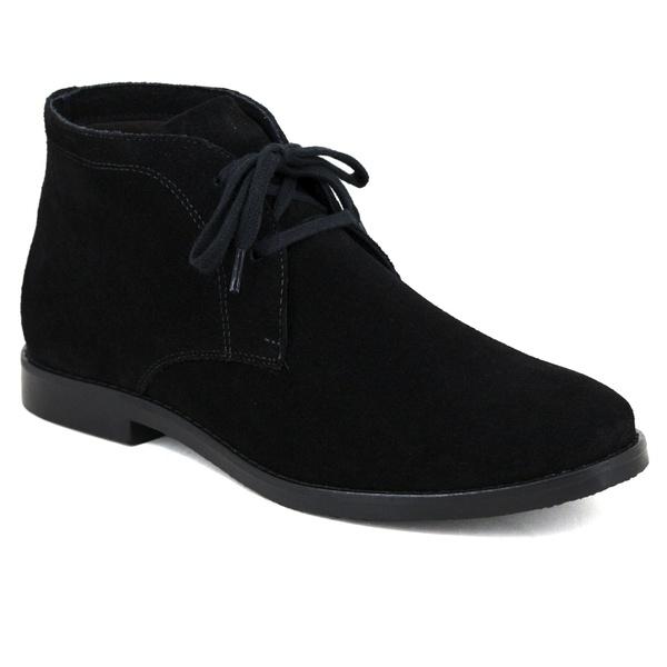 Bota Desert Boots Estilo Chelsea Feminina em Couro Legítimo Camurça