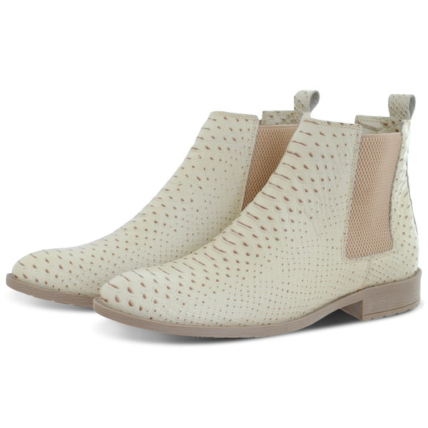 Bota Chelsea Couro Anaconda Escrete Boots Lançamento