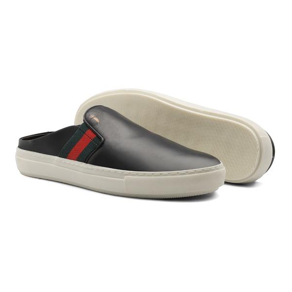 Sapato Masculino Mule Vgt Gc Preto