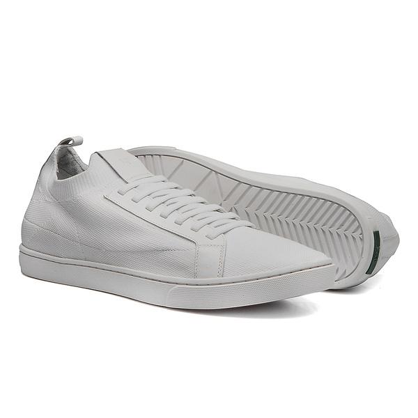 Sapato Masculino Sneaker Knit Branco