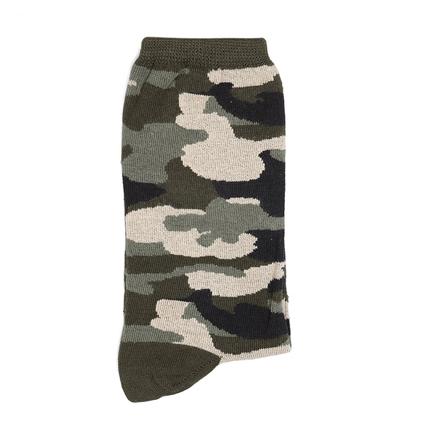 Meia Sportwear Camuflada Militar
