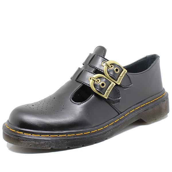 Sapato Inglês Estilo Veggie Alexa Preto