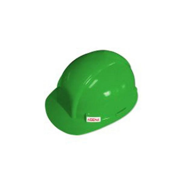 Capacete SeguranÇa C/carneira Verde Agena Inmetro