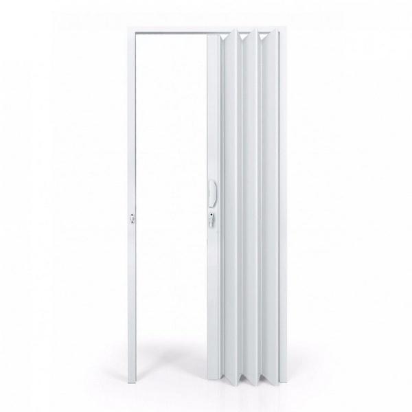 Porta Sanfonada PVC Para Banheiro Com Batente 2,10 x 0,70 PERMATEX