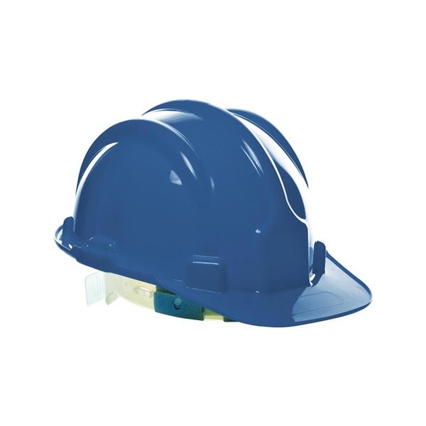 Capacete SeguranÇa C/carneira Azul Plastcor Inmetro