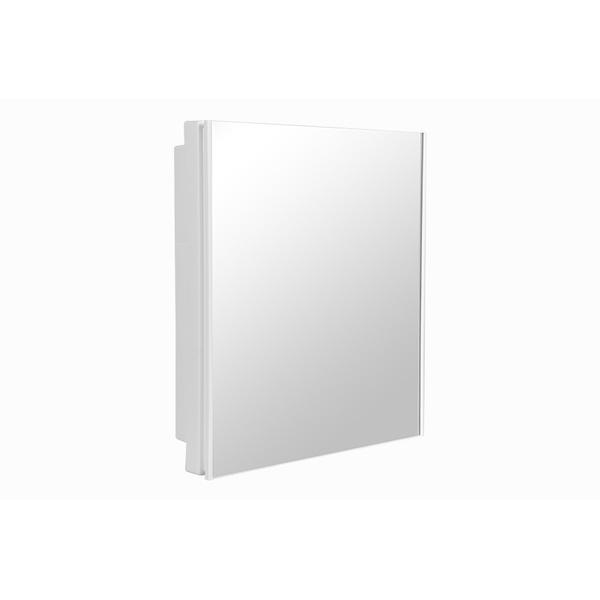 Armário Plástico Versátil De Embutir Ou Sobrepor A41 Astra - Branco