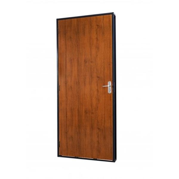 Porta De Madeira Lisa Completa Metalpan - 70x210x14 Esquerda