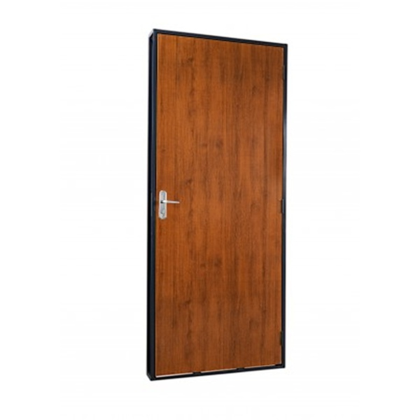 Porta De Madeira Lisa Completa - 80x210x14 Abertura Direita