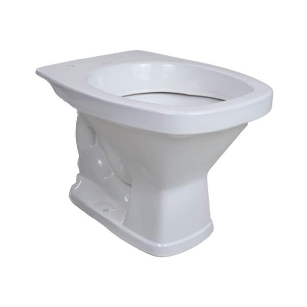 Vaso Sanitário Quadrado Convencional Saída Vertical Santamarina Valentina Branco