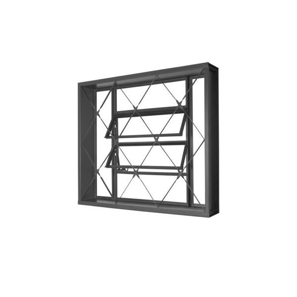 Vitrô Basculante 60x60 C/ Grade