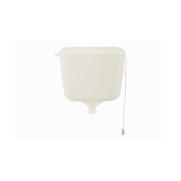Caixa De Descarga Regulável Até 9 Litros Astra Branca