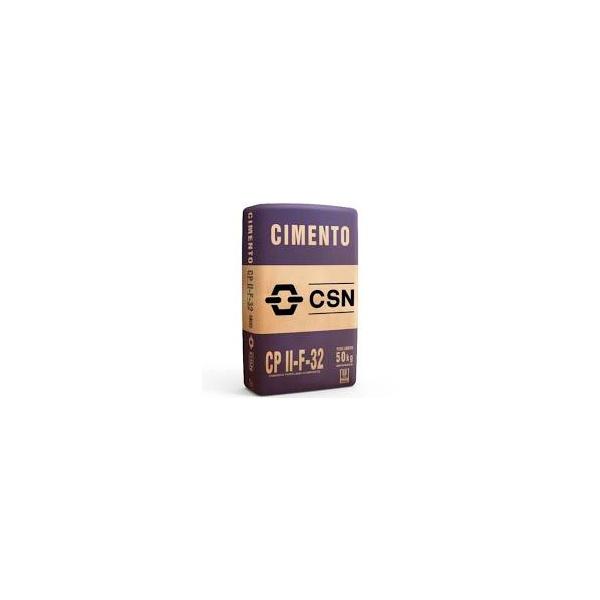 Cimento Csn Cpii 50kg