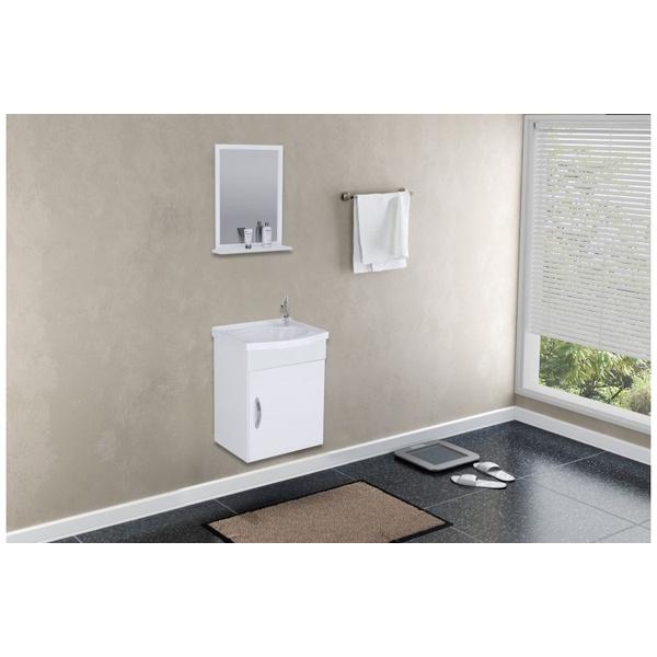 Gabinete de Banheiro A.J. Rorato SIENA Branco 39cm