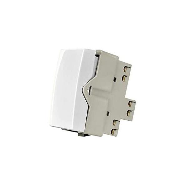 Módulo Interruptor 250v - Paralelo 10a - Sleek Branco [16060] - Margirius