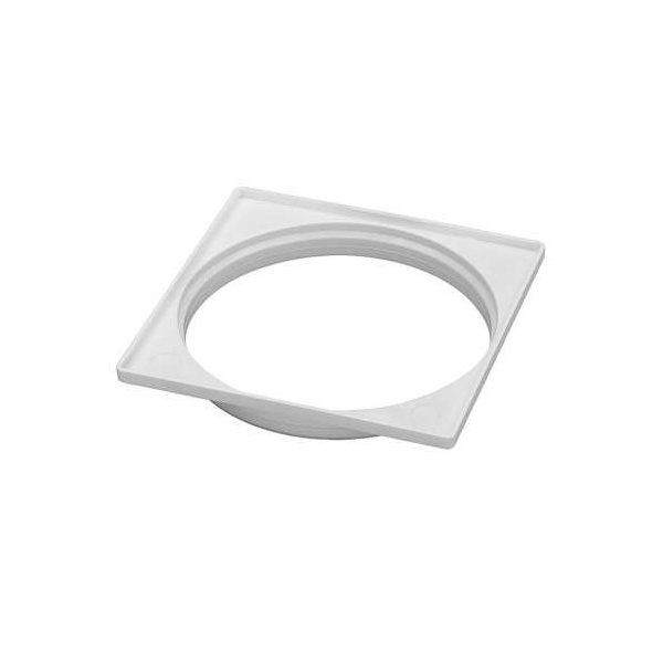 Porta Grelha 10x10 Cm Branco