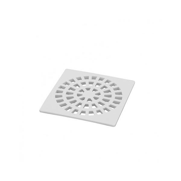 Mc Grelha Pvc Branca 10x10 Quadr-krona