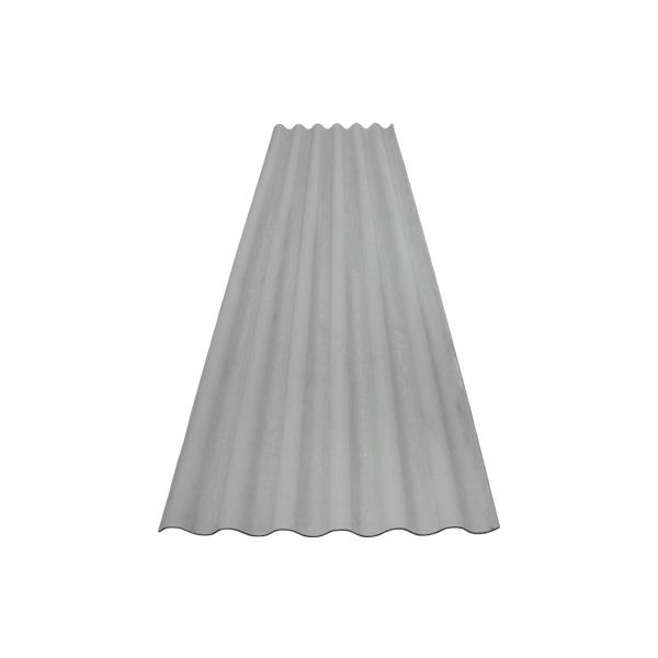 Telha Fibrocimento Hidrofugada 2,44m x 0,50cm 6mm - ETERNIT