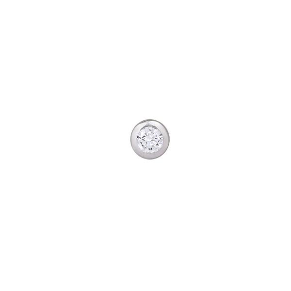 Pingente Ponto de Luz Zircônia em Prata 925